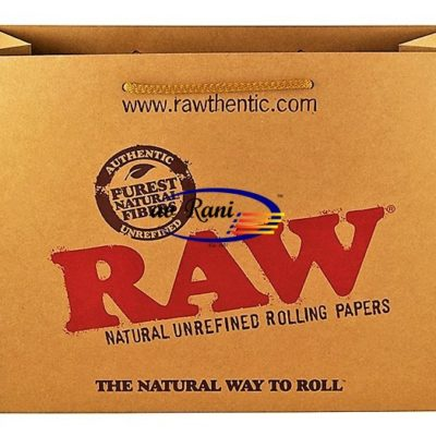 RAW PAPERBAG large